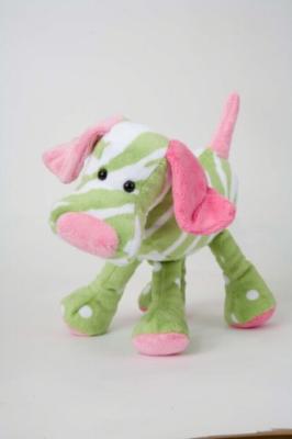 "Kauai Tropical Dog - 9"" Dog By Douglas Cuddle Toy"