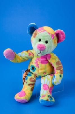 "Ilsa Lime Flower Bear - 11"" Bear By Douglas Cuddle Toy"