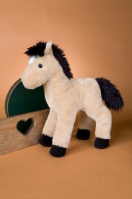 "Breezy Buckskin Horse -11"" Horse By Douglas Cuddle Toy"