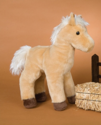 "Cyclone Palomino - 10.5"" Horse By Douglas Cuddle Toy"