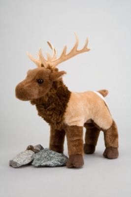 """Clyde Elk - 10"""" Elk By Douglas Cuddle Toy"""