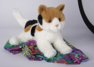 Archie Calico - 12'' Cat By Douglas Cuddle Toys