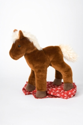 "Florine Chestnut Horse - 11"" Horse By Douglas Cuddle Toy"