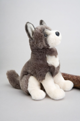 "Willy Wolf - 10"" Wolf By Douglas Cuddle Toy"