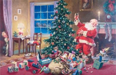 Hard Jigsaw Puzzles - Santa
