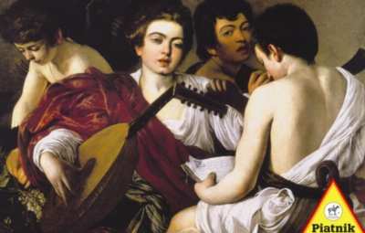 Music Puzzles - Caravaggio: The Musicians