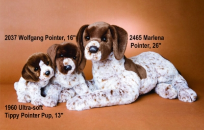 Tippy Pointer Puppy - 13'' Dog By Douglas Cuddle Toys