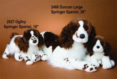 Sydney Springer Spaniel Puppy - 13'' Dog By Douglas Cuddle Toys