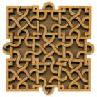 Paradigm Puzzles: Interlace Square - Volumetric Pattern Puzzle