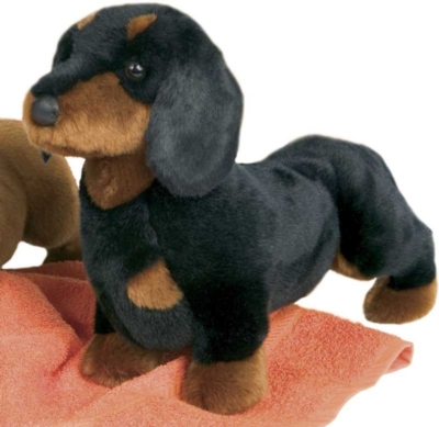 Spats Dachshund - 14'' Dog by Douglas Cuddle Toys