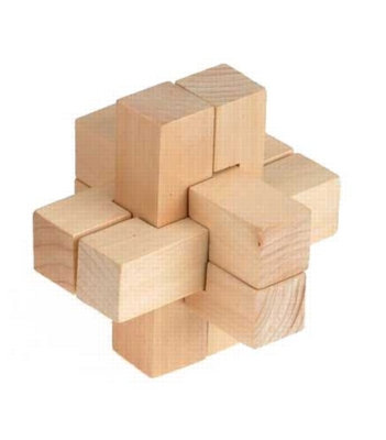 Wood Puzzles - Cross
