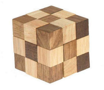 Wood Puzzles - Chain Cube