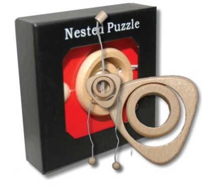 Wood Puzzles - Triangle
