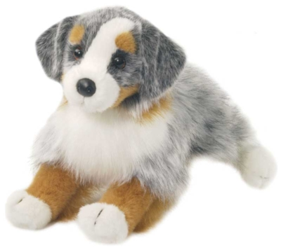 Sinclair Australian Shepherd - 16'' Dog by Douglas Cuddle Toys