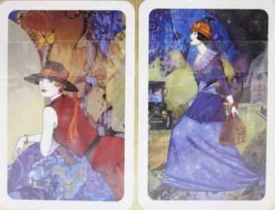 Paris by Night - Double Deck Playing Cards