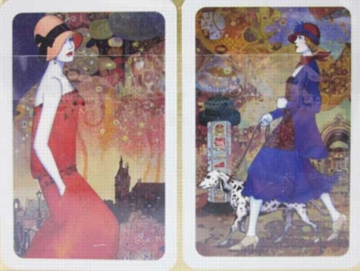 Summer in Paris - Double Deck Playing Cards