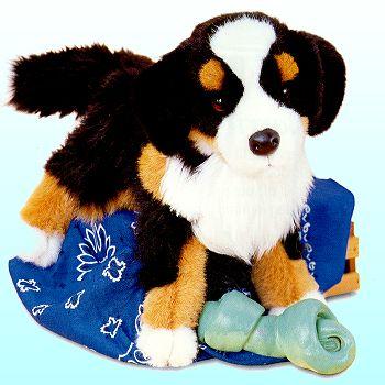 Trevor Bernese Mountain Dog - 16'' Dog by Douglas Cuddle Toys