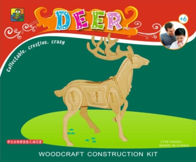 3D Puzzles - Deer
