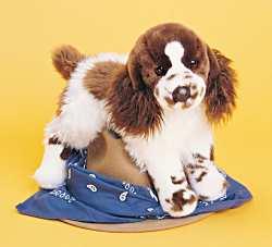 Ogilvy Springer Spaniel - 16'' Dog by Douglas Cuddle Toys