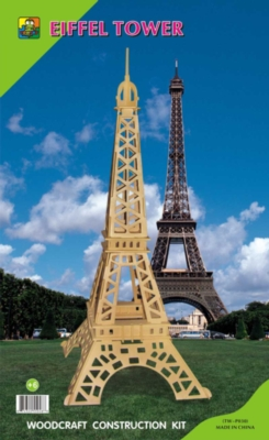 Wood Puzzles - Eiffel Tower
