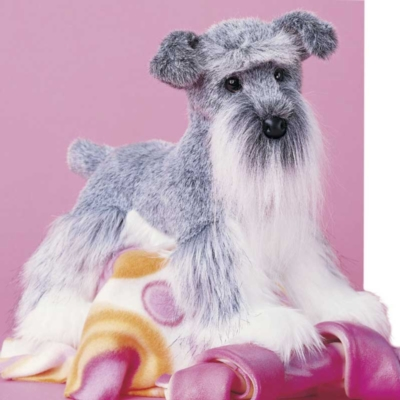 Fritz Schnauzer - 16'' Dog By Douglas Cuddle Toys