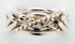 Puzzle Rings - Twisted