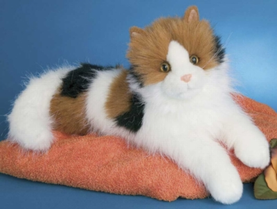 Puzzle Calico Cat - 19'' Cat By Douglas Cuddle Toys