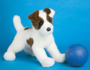 Weaver Jack Russell - 16'' Dog by Douglas Cuddle Toys