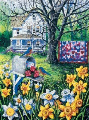 Sending Love - 1000pc Jigsaw Puzzle by Bits & Pieces