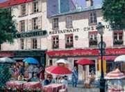 Apres, Midi Montmartre - 1000pc Jigsaw Puzzle by Bits & Pieces