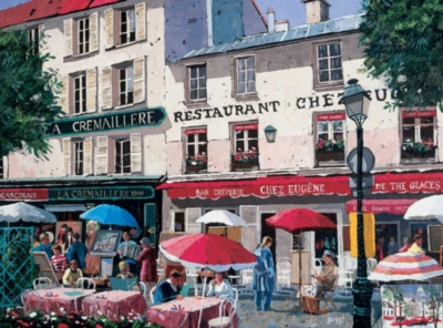 Apres, Midi Montmartre - 1000pc Jigsaw Puzzle by Bits & Pieces