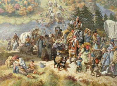 Trail of Tears - 1000pc Jigsaw Puzzle by Bits & Pieces