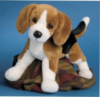 Bernie Beagle - 14'' Dog by Douglas Cuddle Toys