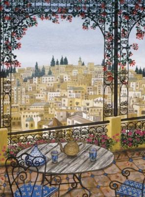 Palais La Medina - 1000pc Jigsaw Puzzle by Bits & Pieces