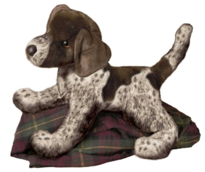 Wolfgang Pointer - 16'' Dog by Douglas Cuddle Toys