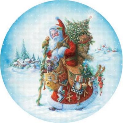 Springbok Large Format Jigsaw Puzzles - Olde World Santa