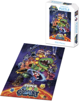 Super Mario Galaxy - 550pc USAopoly Jigsaw Puzzle