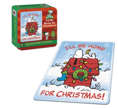Peanuts: I'll be Home for Christmas - 550pc USAopoly Jigsaw Puzzle