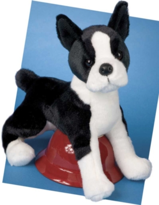 Willem Boston Terrier - 16'' Dog by Douglas Cuddle Toys
