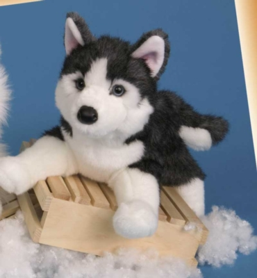 Rainer Husky - 16'' Dog by Douglas Cuddle Toys