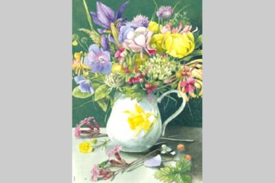 M.Bastin: Bouquet - 2000pc Jigsaw Puzzle by Heye
