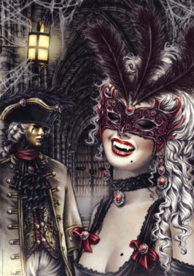 Victoria Frances: Vampires - 1000pc Jigsaw Puzzle by Heye