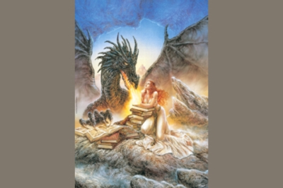Luis Royo: Firebreath - 1000pc Jigsaw Puzzle by Heye