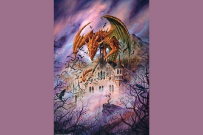 Gothic: Rooftop - 1000pc Jigsaw Puzzle by Heye