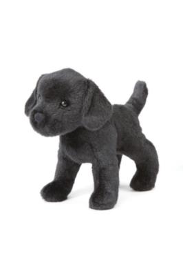 "Murphy Black Labrador - 8"" Dog By Douglas Cuddle Toy"