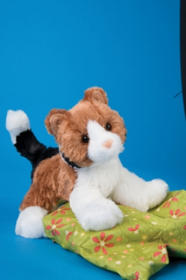 """Maps Calico Cat - 6.5"""" Cat by Douglas Cuddle Toy"""