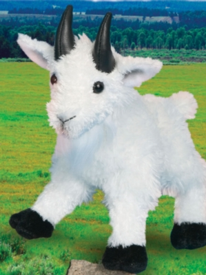 """Maggie Mountain Goat - 8"""" Goat by Douglas Cuddle Toy"""
