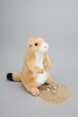 "Digger Prairie Dog - 7"" Prairie Dog By Douglas Cuddle Toy"