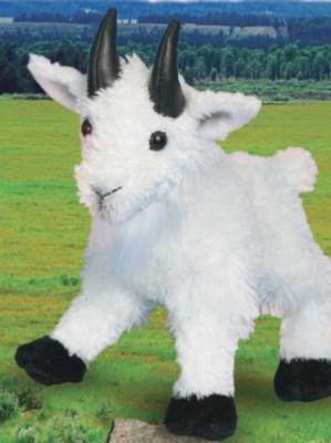 Billy Mountain Goat - 8'' Goat By Douglas Cuddle Toys