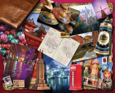 Springbok Jigsaw Puzzles - World Traveler